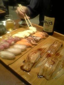 お勧め寿司盛り