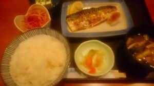 日替わり焼き魚定食